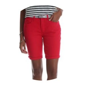 Riders by Lee Mid Rise Bermuda Shorts (85)
